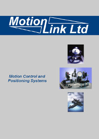 Motionlink Catalogue 2015 Cover